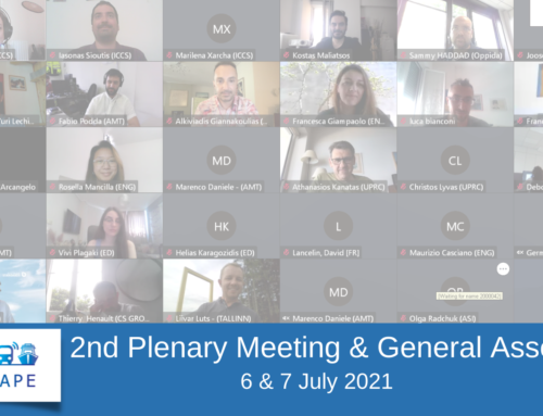 CitySCAPE 2nd Plenary Meeting
